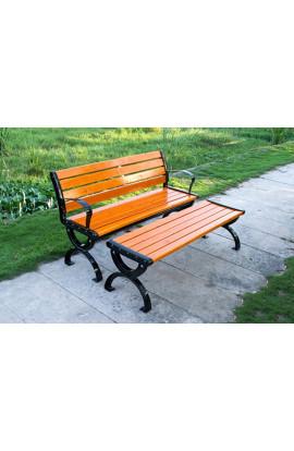 Ghế công viên gỗ thông GCV-150
