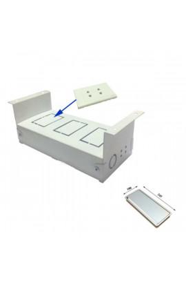 Đế ổ cắm điện âm bàn VNHD 216DE