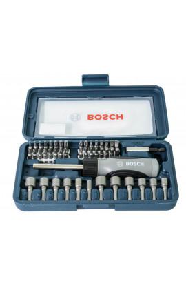 Bộ vặn vít đa năng Bosch 46 chi tiết