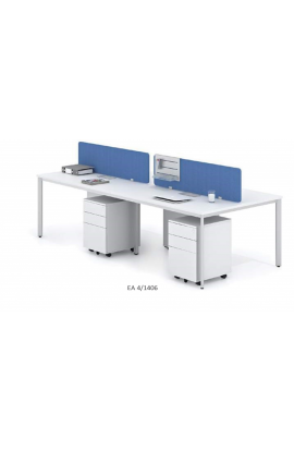 WORK BENCH 4 DESKTOPS - EA 4/1406