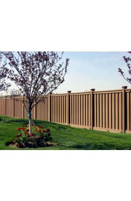 Hàng rào gỗ nhựa 003