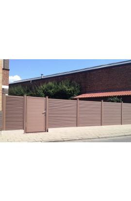 Hàng rào gỗ nhựa 001