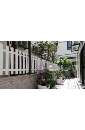 Hàng rào gỗ nhựa 004